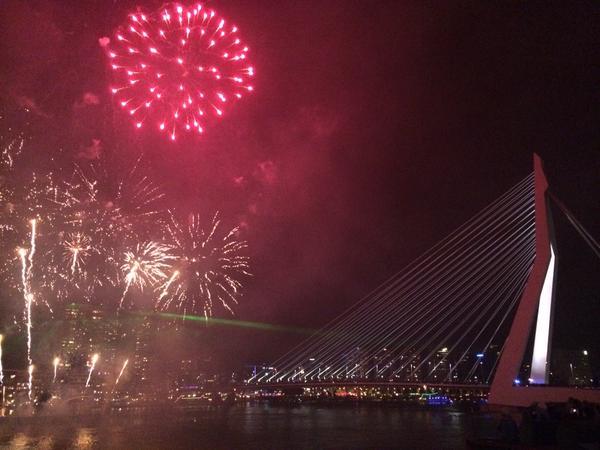 Vuurwerk Wereldhavendagen